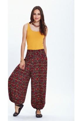 Los Banditos Kadın Renkli Cunda Pantolon P33