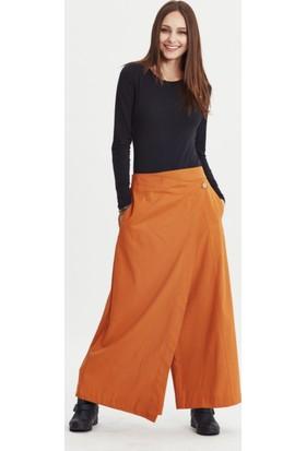 Los Banditos Kadın Hardal Borneo Pantolon P42