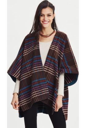 Los Banditos Kadın Mor Kimono Ceket C08