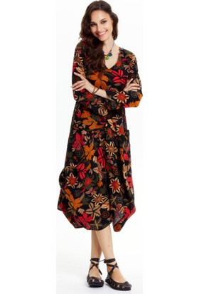 Los Banditos Kadın Siyah Karmina Elbise Ee22