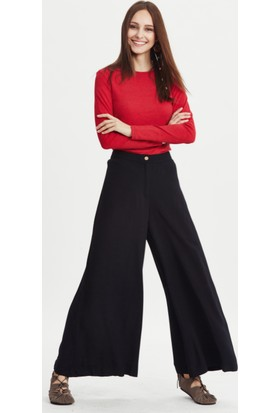 Los Banditos Kadın Siyah Urla Pantolon P48