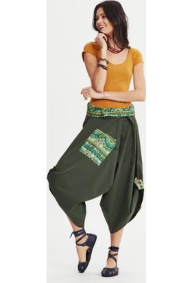 Los Banditos Kadın Yeşil Linda Pantolon P80