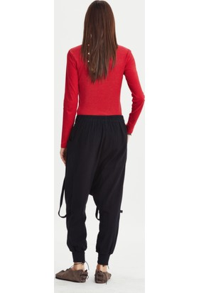 Los Banditos Kadın Siyah Silvia Pantolon P82