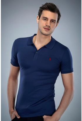 Philip Loren İndigo Logolu Polo Yaka T-Shirt (WPO04W8039W004)