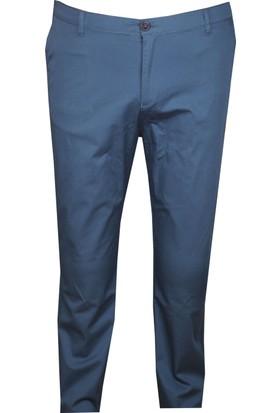 Fala Jeans Büyük Beden Keten Pantolon Petrol