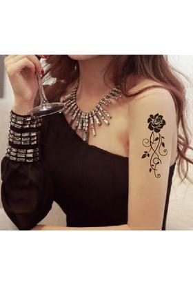 Leydika Flash Tattoo - Geçici Metalik Dövme 519