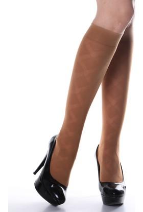 Pierre Cardin 40 Denye Desenli Lucıa Dizaltı Çorap 230000399