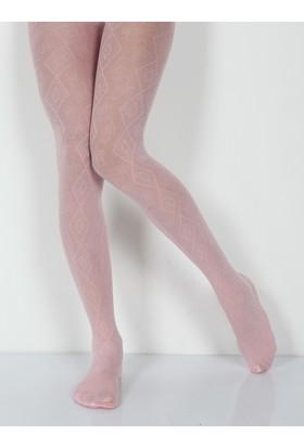 Pierre Cardin Celena Micro 40 Desenli Külotlu Çocuk Çorabı 230000605