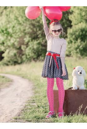 Pierre Cardin Kaly Micro 40 Desenli Külotlu Çocuk Çorabı 230000606