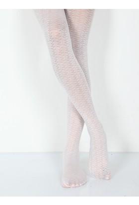 Pierre Cardin Letta Mikro 40 Desenli Külotlu Çocuk Çorabı 230000607