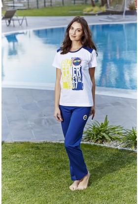 Roly Poly Fenerbahçe Lisanslı Kadın Pijama Takımı