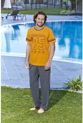 Roly Poly Galatasaray Lisanslı Erkek Pijama Takımı