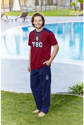 Roly Poly Trabzonspor Lisanslı Erkek Pijama Takımı