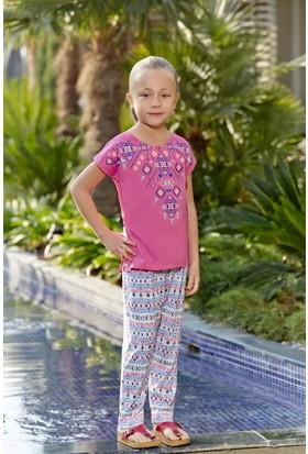 Roly Poly Süprem Kız Çocuk Şalvarlı Pijama