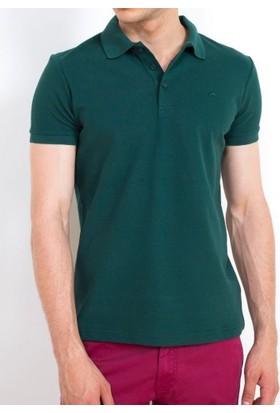 Cazador Polo Yaka T-Shirt Slim Fit Hunter 4613