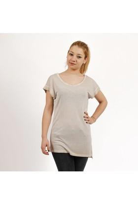 Loft Bayan T-Shirt Bej 2014178