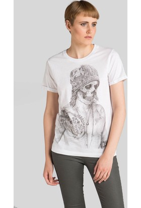 Happiness Beckham Skull T-Shirt16053