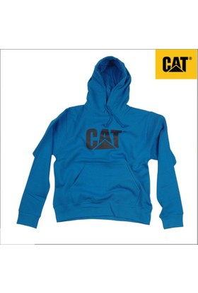 Caterpillar 2910758 Sweatshirt Kapüşonlu Mavi