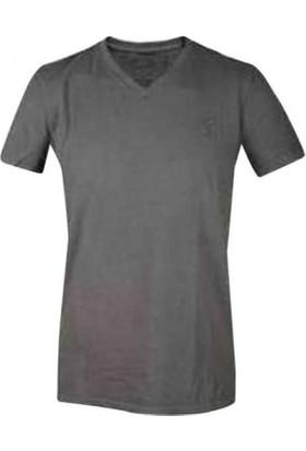 American Eagle 7353-037 V Yaka T-Shirt