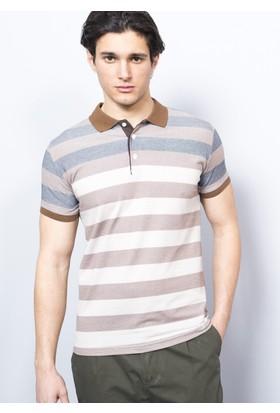 Degarza Polo Yaka Ringelli T-Shirt