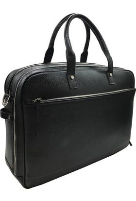 a6519517401aa Bond 1209-281 Siyah Gerçek Deri Erkek Evrak-Laptop Çantası ...