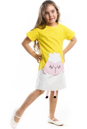 Denokids Sarı Kuzucuk Elbise