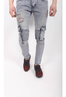 Oksit Denimco 842 Slim Fit Tarz Jeans Açık Gold