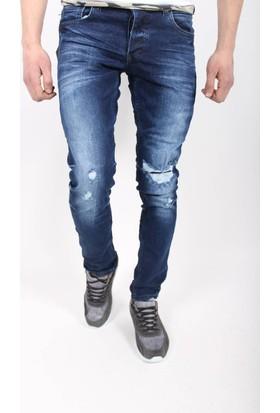 Oksit Reaxion 5060 Yıpratmalı Jeans Koyu Mavi