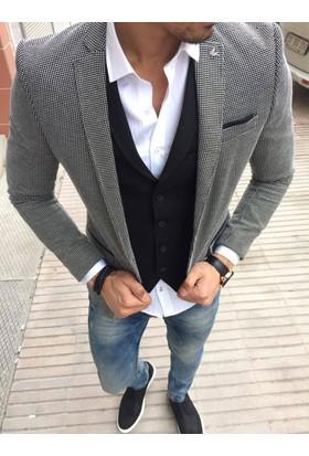 Oksit T.David Fashion 2 Li Takım Siyah