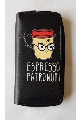 Köstebek Harry Potter - Espresso Patronum Uzun Cüzdan