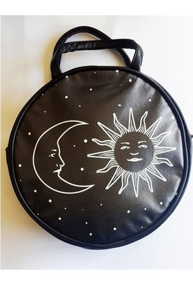 Köstebek Moon And Sun Yuvarlak Çanta