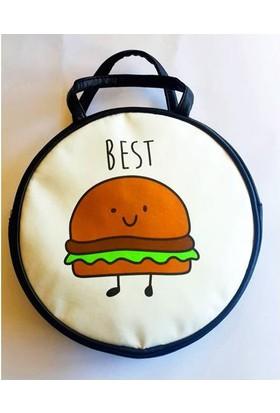 Köstebek Best Hamburger Yuvarlak Çanta