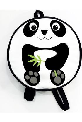 Köstebek Panda Ve Bambu Yuvarlak Sırt Çantası