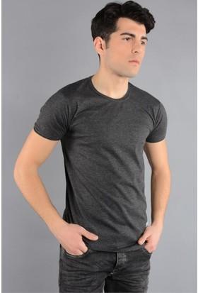 Rodin Hills Antrasit O. Yaka Basic T-Shirt
