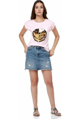 Dewberry Z6190 Bayan T-Shirt
