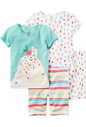 Carter's Küçük Kız Çocuk 4Lü Pijama 351G269