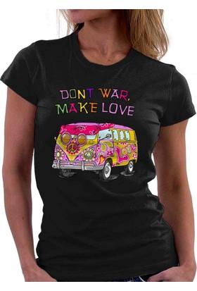 The Chalcedon Dont War Make Love Bayan Tshirt