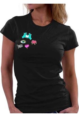The Chalcedon Kissy Candy Love Bayan Tshirt