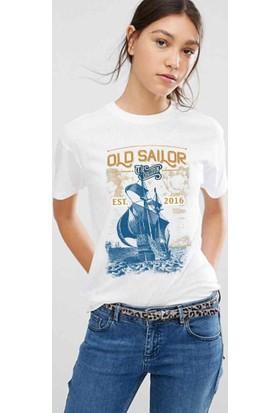 The Chalcedon Old Sailor Sailor Series Bayan Tshirt