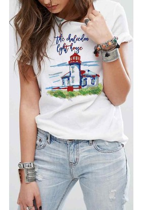 The Chalcedon Paint Light House Bayan Tshirt