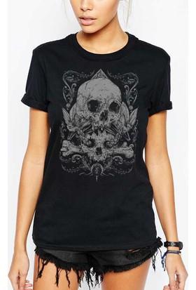 The Chalcedon Skull Totem Bayan Tshirt