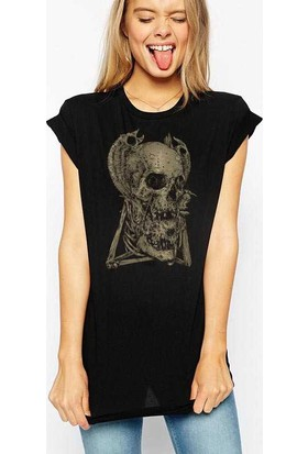 The Chalcedon Skull Tottem Bayan Tshirt