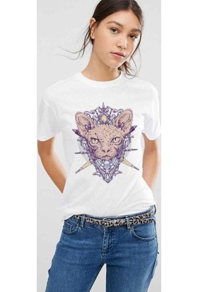 The Chalcedon Sphynx Cat Bayan Tshirt