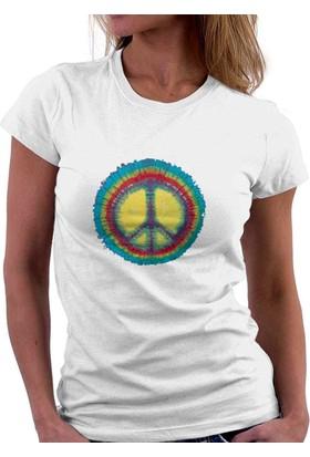 The Chalcedon Watercolor Peace Sign Bayan Tshirt