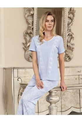 Şahinler Kadın Pijama Takımı Lila MBP23421-1