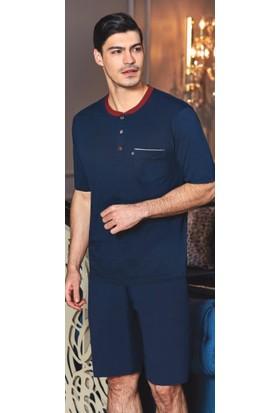 207f994d60e30 ... Batista 40 Çeyizlik Kotona Penye Beşli Erkek Pijama Takımı ...