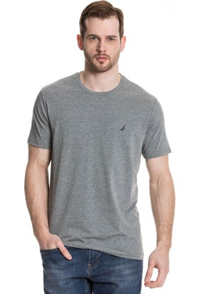 Nautica Gri T-Shirt V41006T.0Mr
