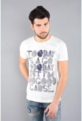 Rodin Hills Kemik Erkek T-Shirt Today Baskılı