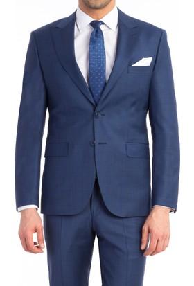 Kiğılı Slımfıt Kareli Takım Elbise 124956