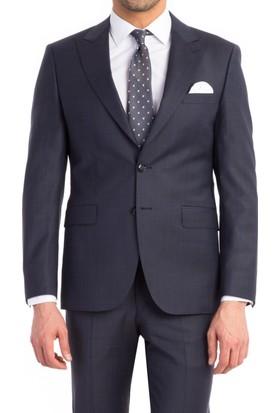 Kiğılı Slımfıt Kareli Takım Elbise 124957